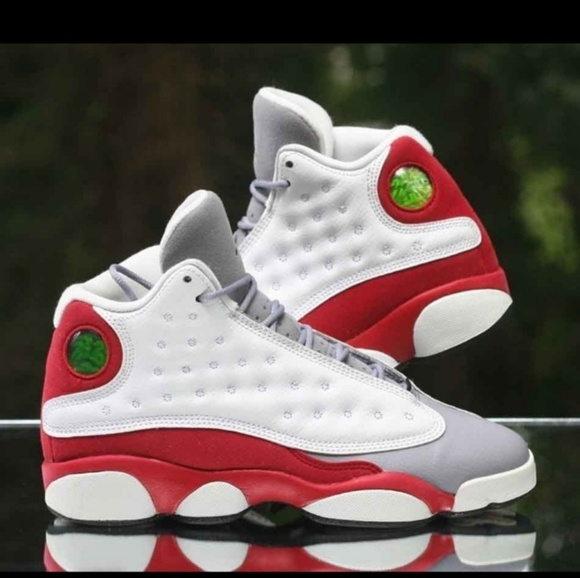 Jordan Other - Nike Air Jordan 13 Retro Grey Toe Sz 1Y